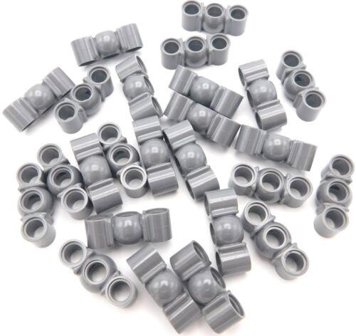 Lego 25 Neue Dunkel Blau Grau Technic Liftarms 1 X 3 mit Kugelgelenk in Mittel