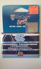 North Carolina Tar Heels 2005 NCAA Basketball Regional Champions Button New ACC