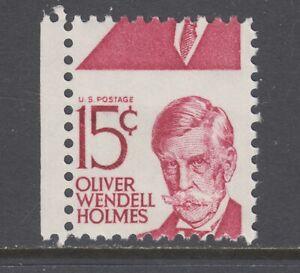 US-Sc-1288-MNH-1965-15c-Oliver-Wendell-Holmes-horizontal-MISPERF-ERROR