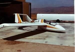 Condor ADI USA Motor Glider Airplane Wood Model Replica ...