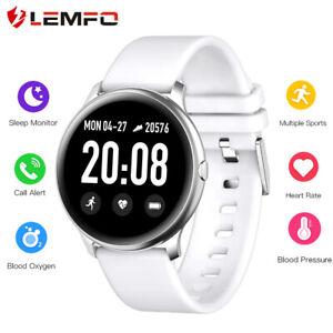 Lemfo-KW19-Reloj-inteligente-Oxigeno-en-la-sangre-Ritmo-cardiaco-Android-IOS