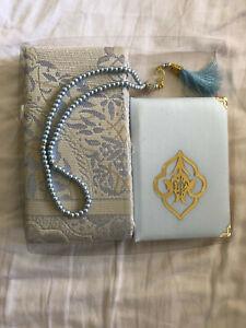 Muslim-Gift-pack-with-Velvet-Qura-Prayer-Mat-Rug-and-Beads-Tasbeeh