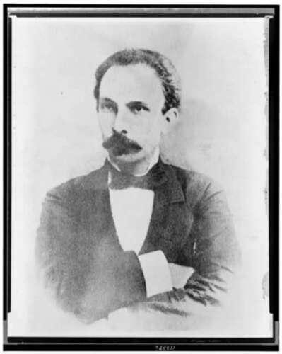 1890/'s,Marti Jose national hero of Cuba Photo: Jose Marti
