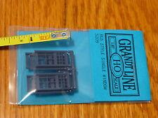 "Grandt Line HO #5209 RGS Windows -- Double Hung 34 x 67"""