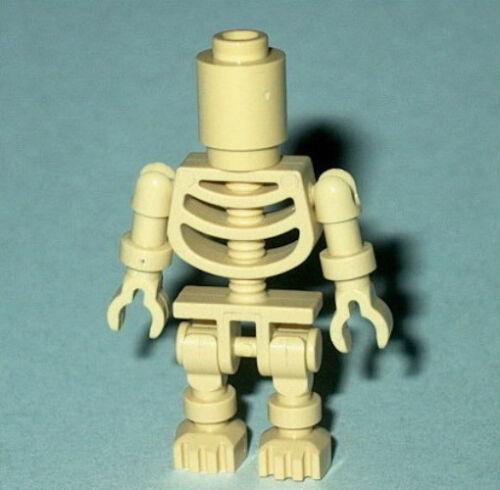 NEW Genuine Lego 2519  Halloween Bowling Pin NINJAGO #11 Lego Tan Skeleton