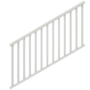 Veranda-Exterior-Stair-Rail-Kit-6-ft-x-36-in-Square-Balusters-Vinyl-White