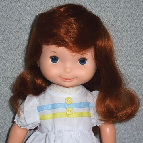 Janelle ** DOLL WIG ** Size 12 GINGER Medium Length /& Bangs fits MY FRIEND dolls