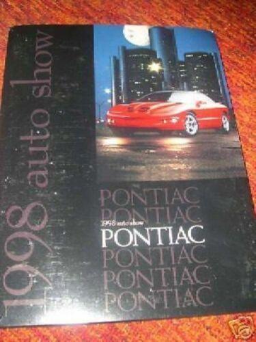1998 Pontiac Firebird Bonneville SSEi Sunfire Press Kit
