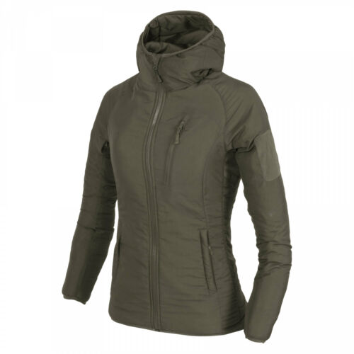 Taiga Green Helikon-Tex WOMEN/'S WOLFHOUND Hoodie Jacket Climashield