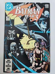 BATMAN-436-1989-DC-COMICS-YEAR-3-Part-1-1ST-APPEARANCE-OF-TIM-DRAKE-ROBIN-NM