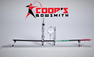 Coop's, Arrow Spine and arrow tester pro....