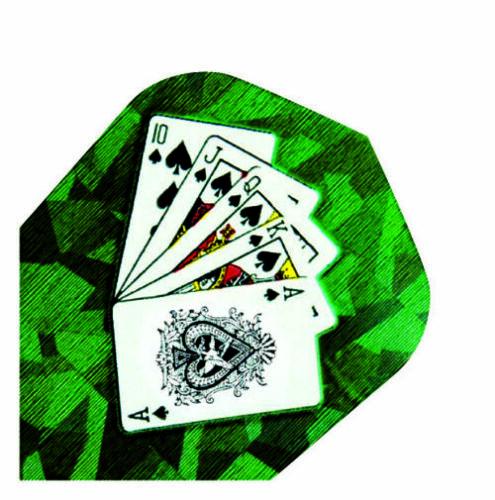 Harrows Holographic Dart Flights Standard Shape Cards