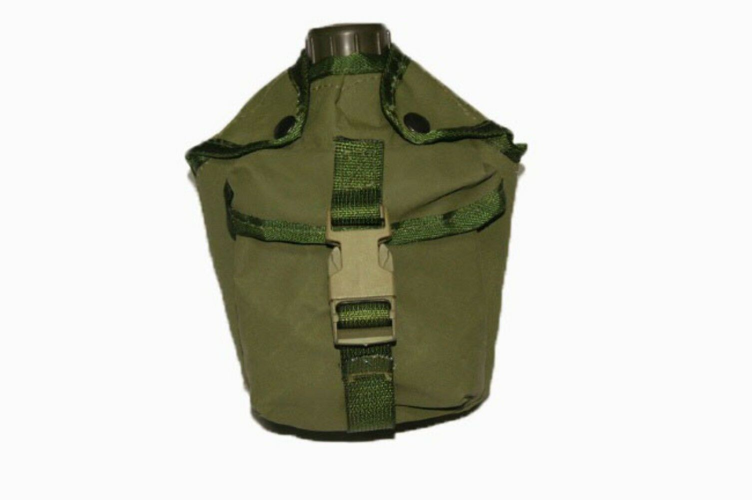 Army Canteen Cover - Canvas - Olive  - Army & Military