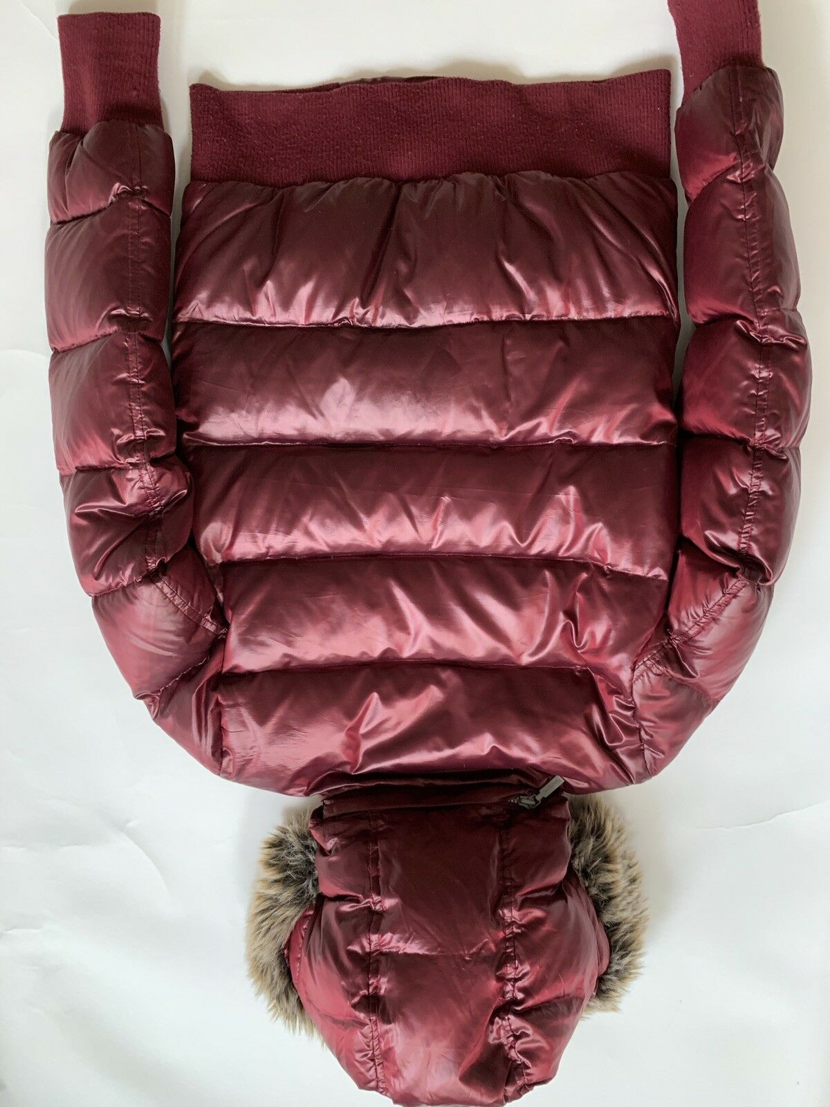 Barbour Heritage Mercury Down Puffer Bomber Red - image 7
