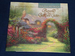 beyond the garden gate by thomas kinkade 1997 hardcover art poetry 1565075404 ebay