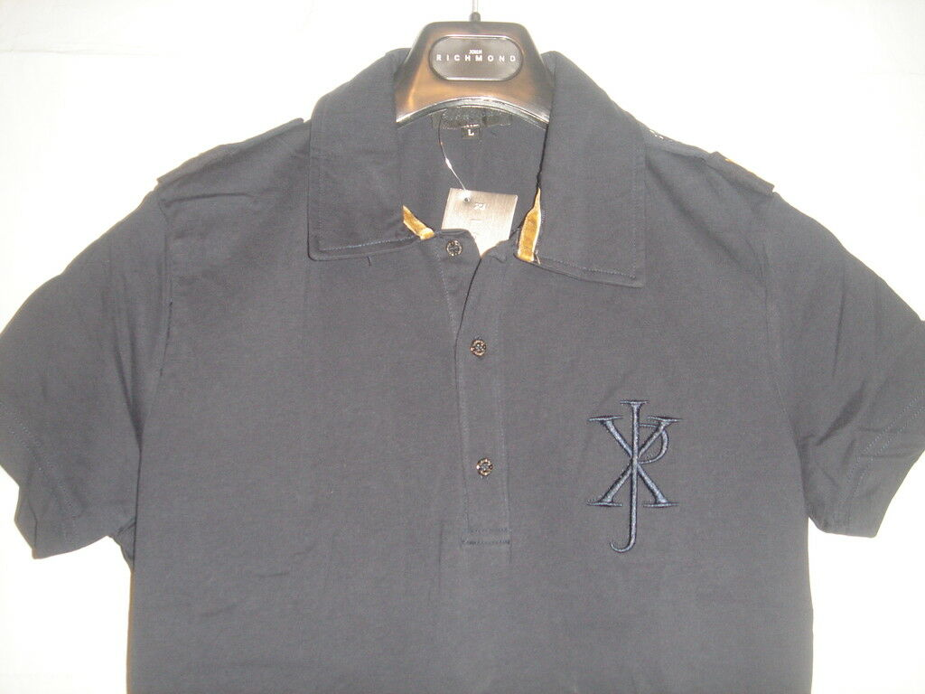 NWT Superb John RICHMOND COUTURE polo type D G¹ M US S