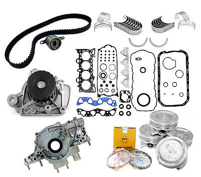96-00 Honda Civic Del Sol 1.6L D16Y7 D16Y8 SOHC 16V Master Rebuild Engine Kit