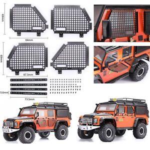 Protector-De-Malla-Metalica-4PCS-Ventana-defender-para-TRAXXAS-TRX4-RC4WD-D90-D110-1-10-RC