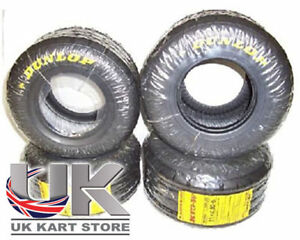 Dunlop-KT3-Wet-Tyre-Set-Honda-Cadet-Latest-Batch-MSA-Legal-UK-KART-STORE