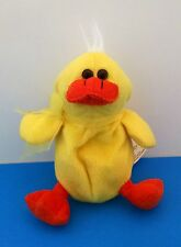 "Best Made Toys Yellow Duck 7"" Stuffed Plush with Bow"