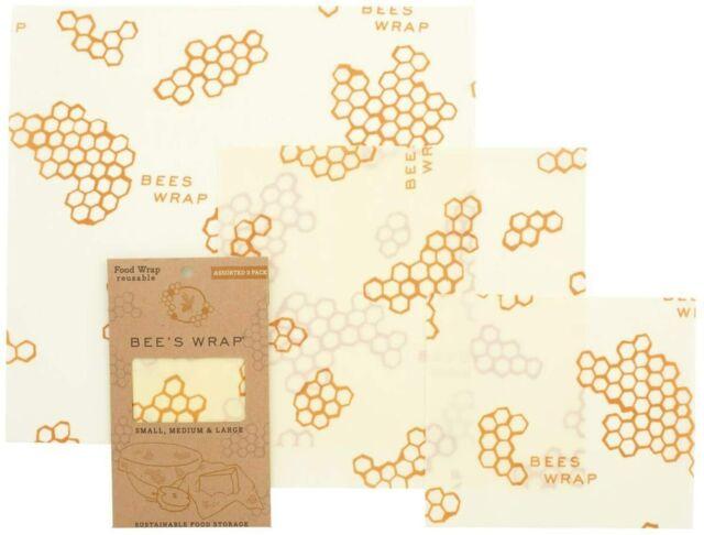 beige Bees Wrap 35 cm/x 66/cm carta alimentare per baguette singola