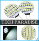 1x Ampoule 24 Led SMD 3528 G4 12V DC Dimmable 2.5W blanc froid SDB HOTTE...