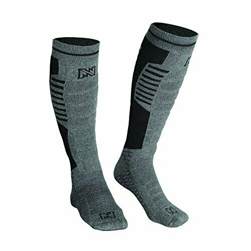 Safe & Comfy Over the Calf Electric Warming Socks w Remote for uomini 1014