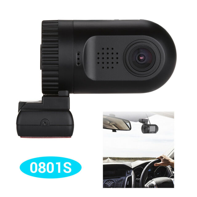 Mini 0801S AIT8328P OV2710 MF 1080P Car Dash Cam Video Recording GPS Camera DVR