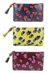 63c23d9c3 Image is loading New-Authentic-GUCCI-Heartbeat-Leather-Pouch-Clutch-Bag-