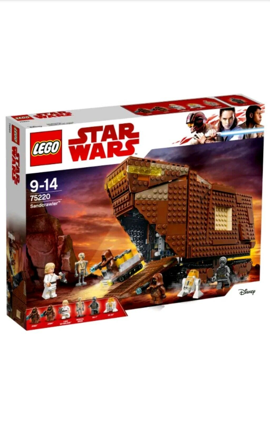 LEGO 75220 75220 75220 - SANDCRAWLER - BRAND NEW - SEALED - STAR WARS - SAND CRAWLER 49f419