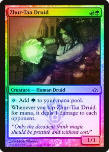 Druid/'s Deliverance FOIL Return to Ravnica NM Green Common MAGIC CARD ABUGames