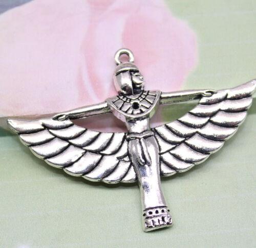 wholesale 4//12pcs 56x42mm fashion delicate lovely Charm The angel pendant