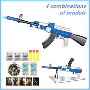 AK47 Pistola de Agua Bullet Suave huelga Dart Blaster Elite Lote De Juguetes CS Dardos