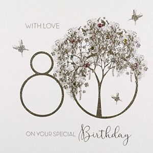 Image Is Loading With Love On Your Special 80th Birthday Greeting
