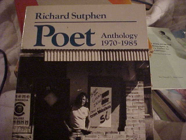 RICHARD SUTPHEN, POET ANTHOLOGY 1970-1985, SOFTCOVER