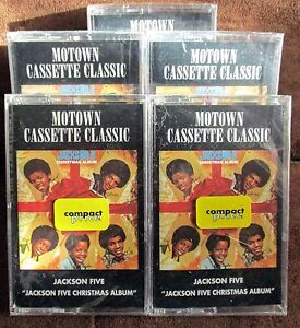 The-Jackson-5-The-Christmas-Album-Cassette-1992-Motown-RARE-HTF-MINT-MICHAEL
