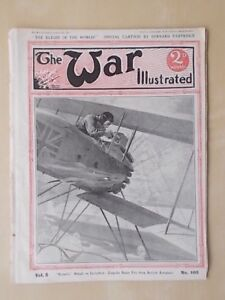 VINTAGE-WW1-MAGAZINE-THE-WAR-ILLUSTRATED-1914-18-No-105-ACTION-ON-THE-FRONT