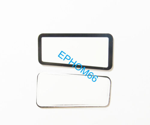 Tape Top Outer LCD Screen Display Window Glass Protector For Canon EOS 60D