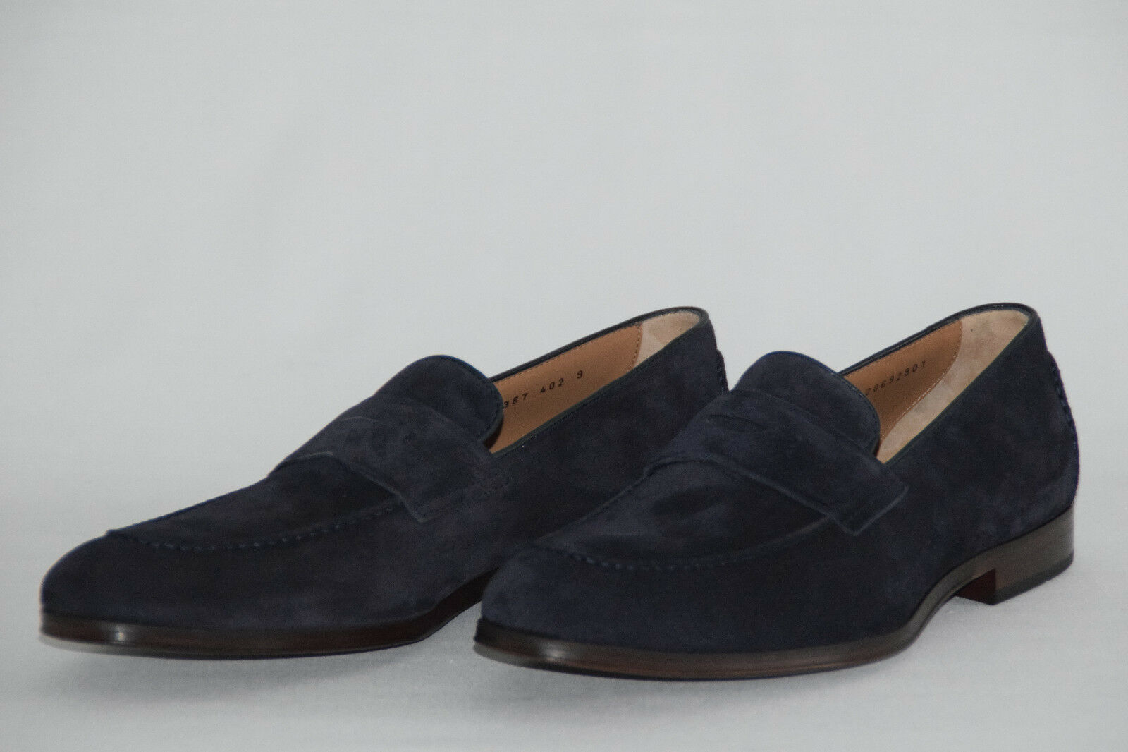 Hugo BOSS pennyloafer, Tg. 43//  10, Made in Italy, UVP: