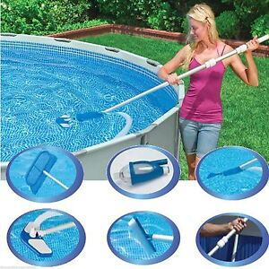 Bestway Maintenance Swimming Pool Cleaner Kit Hand Held