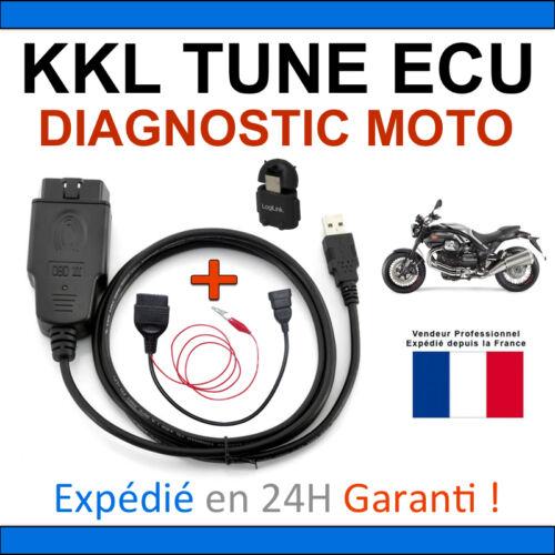 ADAPTATEUR OBD KTM TRIUMPH MV AGUSTA Moto GUZZI Cable KKL spécial Moto DUCATI
