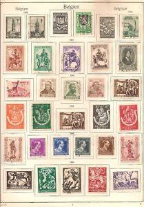 Belgium-Semi-Postal-Good-Lot-Charity-Belgien-Belgique-Stamps