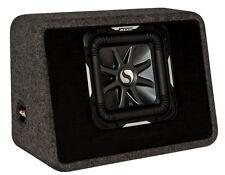 """KICKER TS10L7 10"""" 1200W Loaded Car Audio Subwoofer Sub+Box L7 Solo- Refurbished"""