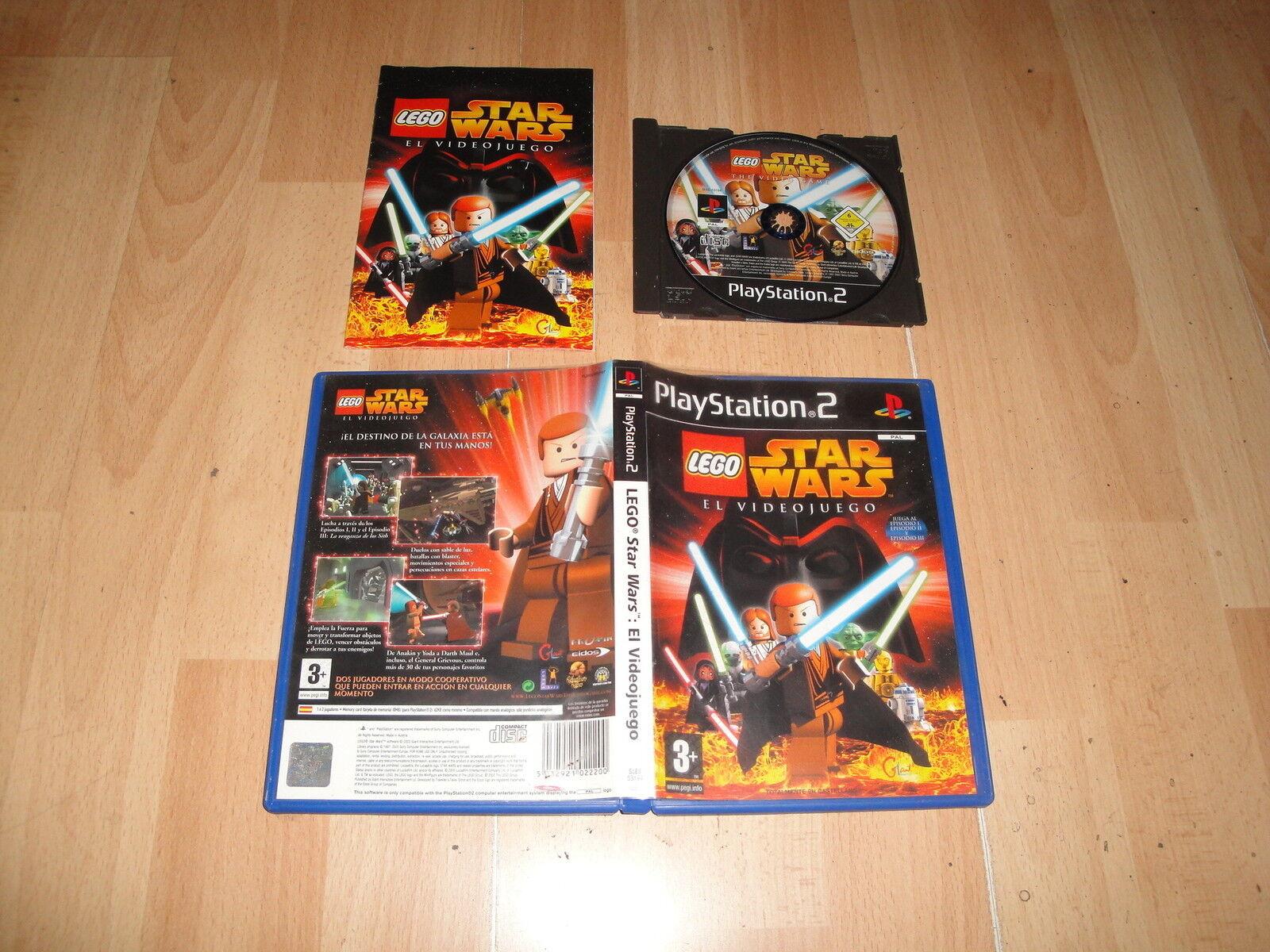 LEGO STAR WARS EL VIDEOJUEGO DE TRAVELLER'S - jeu StarWars