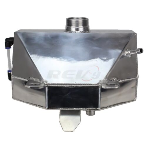 Rev9 Mustang 15-17 Ecoboost 2.3L//V6 3.7L//V8 GT350 Aluminum Coolant Overflow Tank