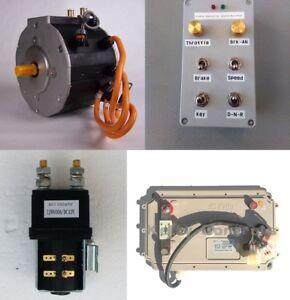 144V Complete Electric Car Conversion Kit, EV Conversion, Boat Conv., w/Regen!