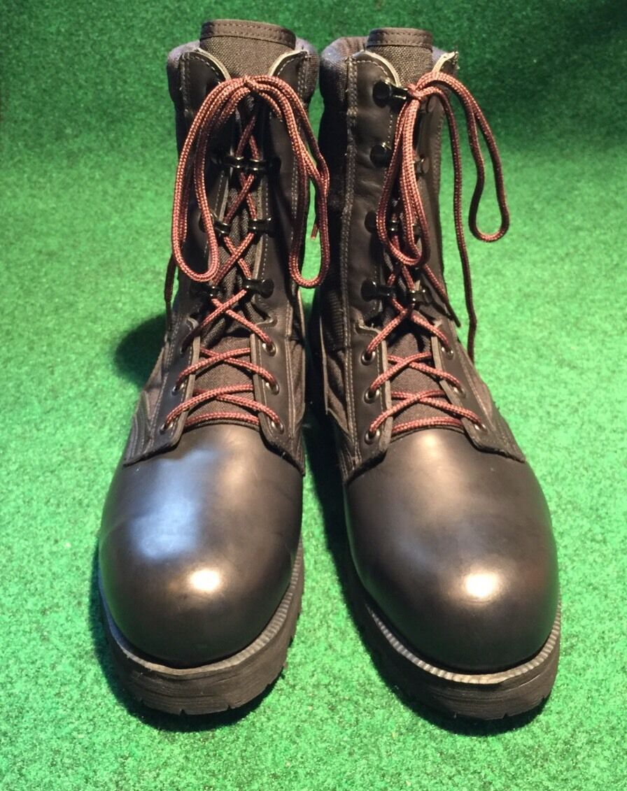 Vtg DeadStock 220 TRP ST Military Army Combat Stiefel Größe 10.5R Made In USA