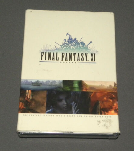 Vintage Sony Playstation 2 Final Fantasy XI Online Square Enix PS2 NEW Sealed