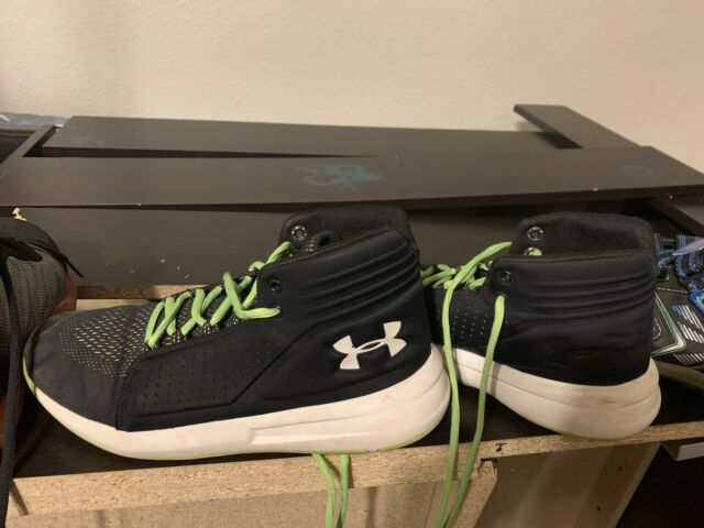 Under Armour Sneakers Boys Youth Size 6 6Y Kids School Shoes Black