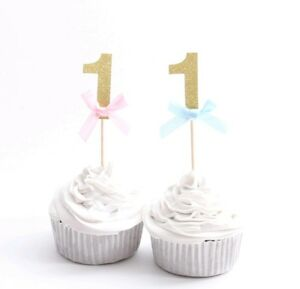 1ST-BIRTHDAY-ONE-CUPCAKE-TOPPERS-GOLD-GLITTER-FIRST-BIRTHDAY-PARTY-BOY-GIRL